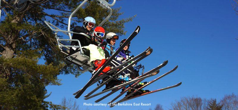 Berkshire East Ski area in western Massachusetts, 2.5 hours from Boston