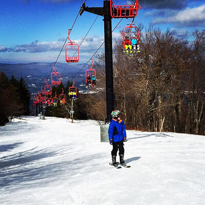 Magic Mountain - New England Ski Area near Boston