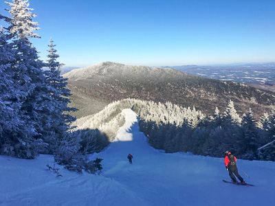 New England ski areas include Vermont's Smugglers' Notch Resort