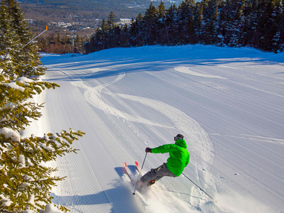 Sunday River, popular New England ski area