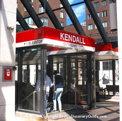 Kendall Station on Boston's Red Line