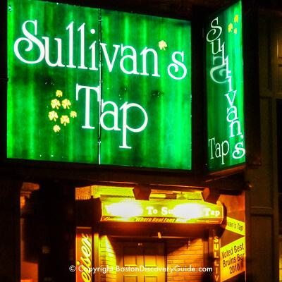 Sullivan's Tap near TD Garden in Boston