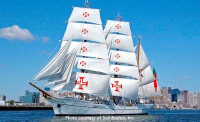 Tall ships in Boston