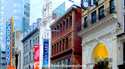 Paramount Theatre, Opera House, Modern Theatre in Boston