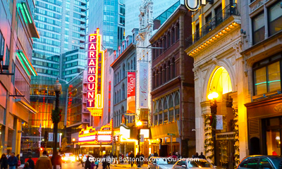 Boston nightlife and entertainment - Shows and performances