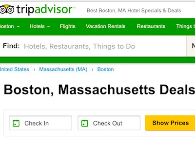 Boston hotel bargains, discounts, and deals