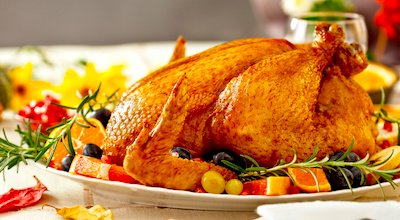 Enjoy turkey dinner at a Boston restaurant