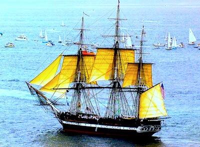 USS Constitution - Labor Day events in Boston