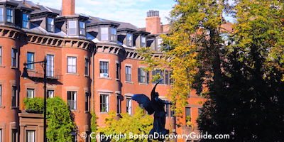 Boston's Back Bay neighborhood  sightseeing  attractions