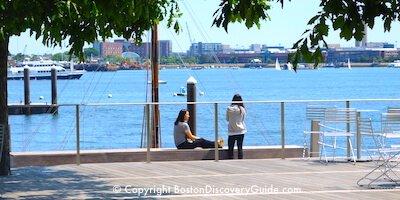 Seaport / South Boston Waterfront - Harborwalk