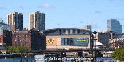 TD Garden in Boston's West End