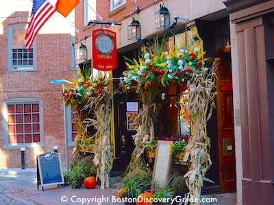 Boston's Historic Pubs and Taverns