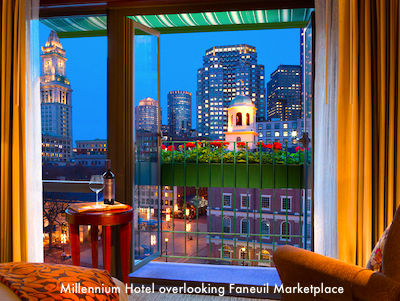 Boston hotels near Faneuil Marketplace