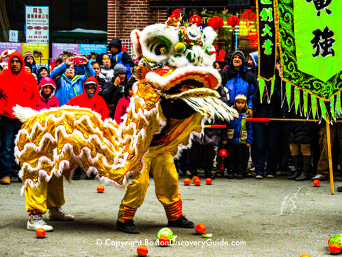 February Events in Boston - Chinese New Year Parade