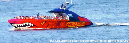 Photo of Codzilla in Boston Harbor