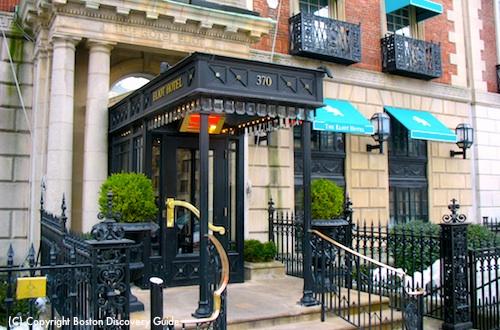 Photo of Eliot Hotel on Commonwealth Avenue in Boston
