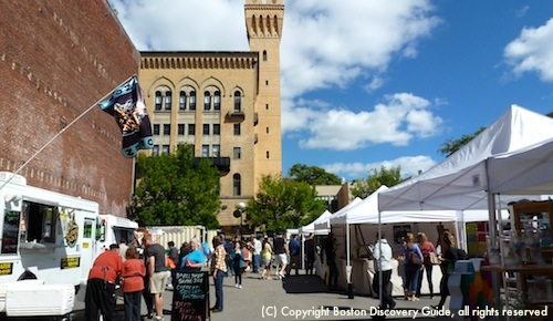 SoWa Open Market in Boston