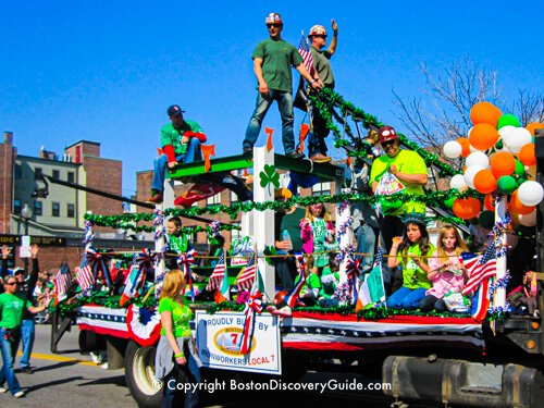 March Events in Boston - St Patrick's Day