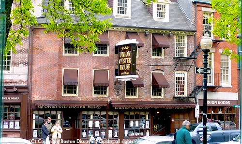 Union Oyster House Restaurant in Boston, Massachusetts / www.boston-discovery-guide.com