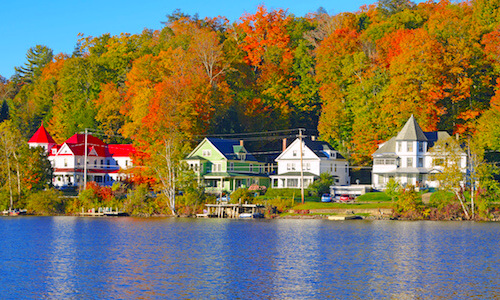 Fall Foliage cruises from Boston up the New England and Canadian coastline