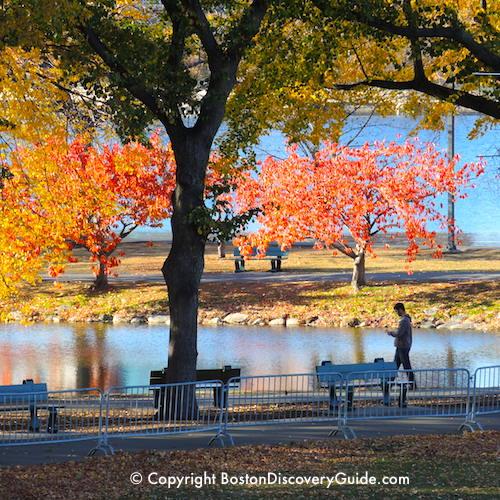 Boston neighborhoods:  The Esplanade