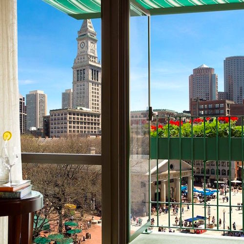 Hotels near Boston's Faneuil Hall Marketplace
