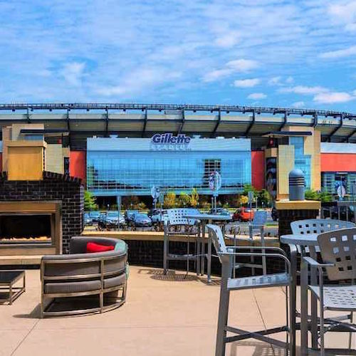 Boston hotels near Gillette Stadium