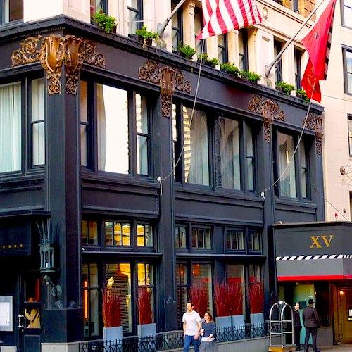 XV Beacon Hotel in Boston's Downtown neighborhood