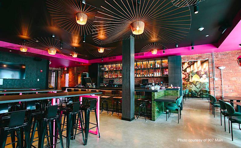 Restaurant and bar at 907 Main