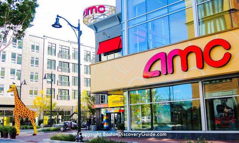 Boston Movie Theaters:  AMC Theaters at Assembly Row