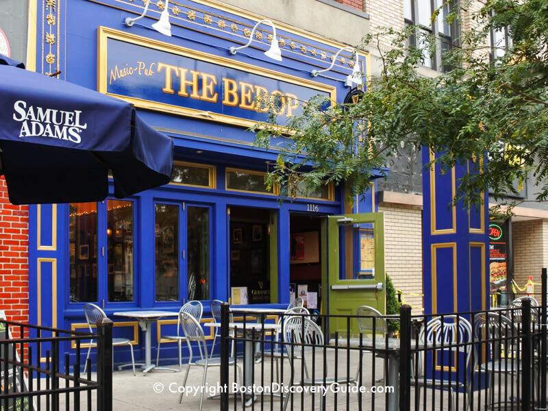 The Bebop on Boylston Street in Boston's Fenway neighborhood