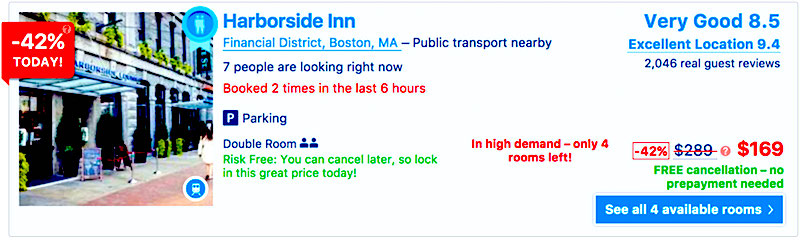 How to find Boston Hotel deals
