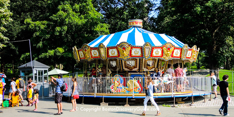 Carousel on Boston Common