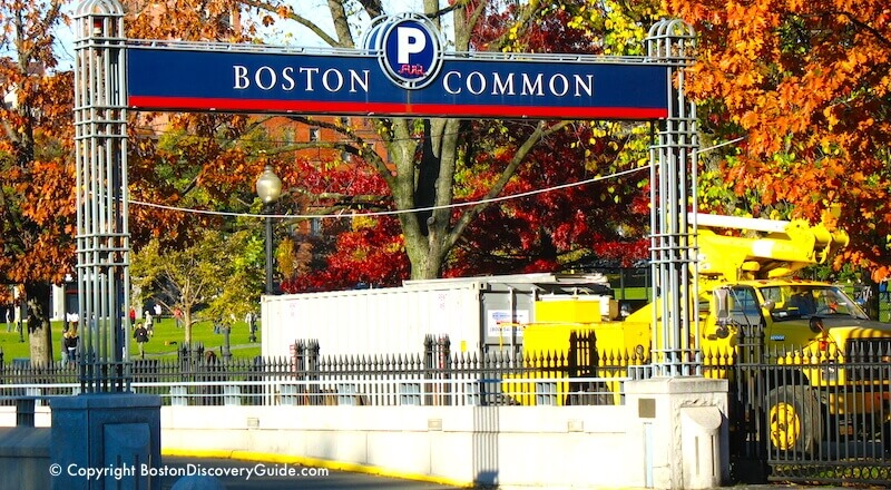 Boston Common Garage How To Get Cheap Rates Boston Discovery Guide