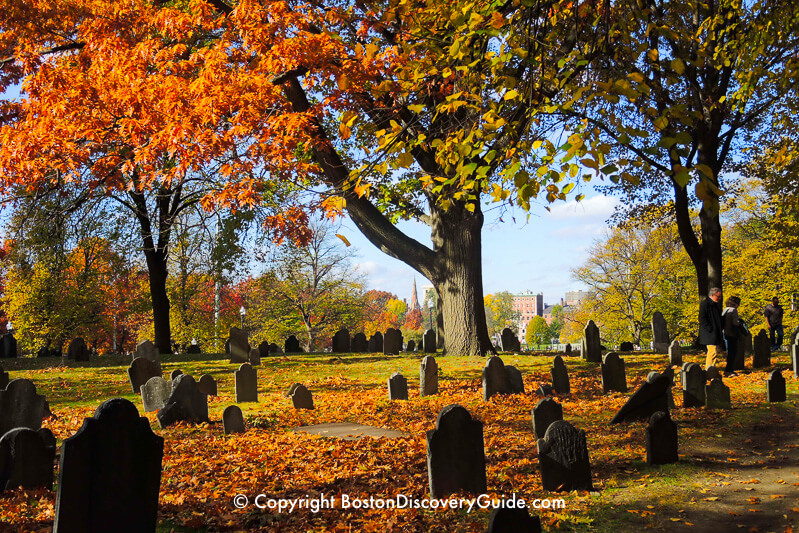 Central Burying Ground on Boston Common