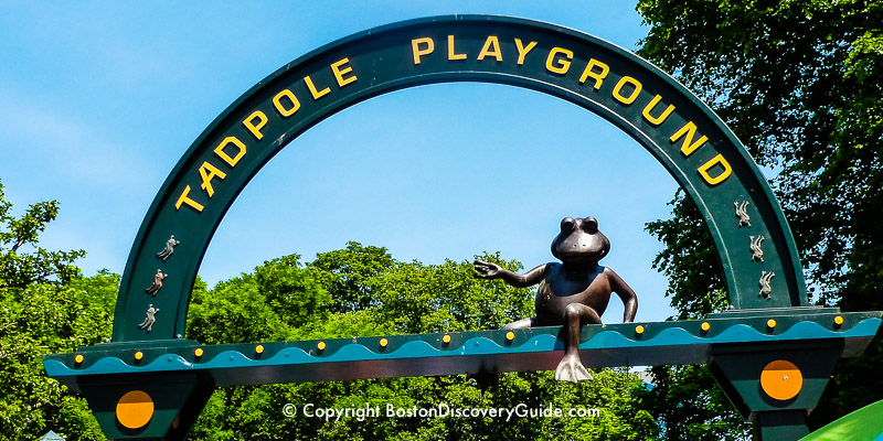 Tadpole Playground on Boston Common