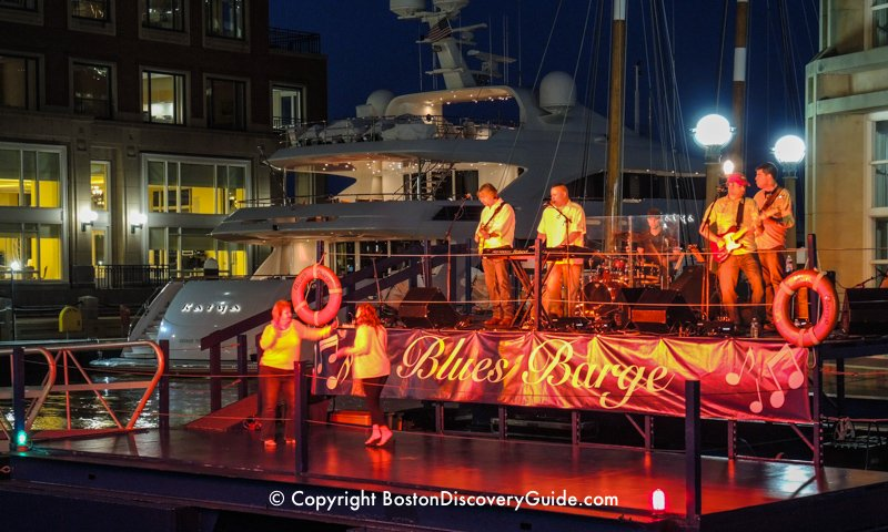 Boston Harbor Hotel's Blues Barge - Summer in the City