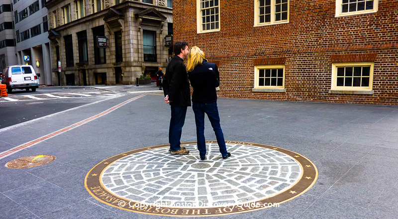 Boston Massacre Memorial on the Freedom Trail