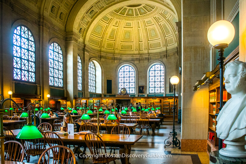 Boston Public Library - Bates Hall