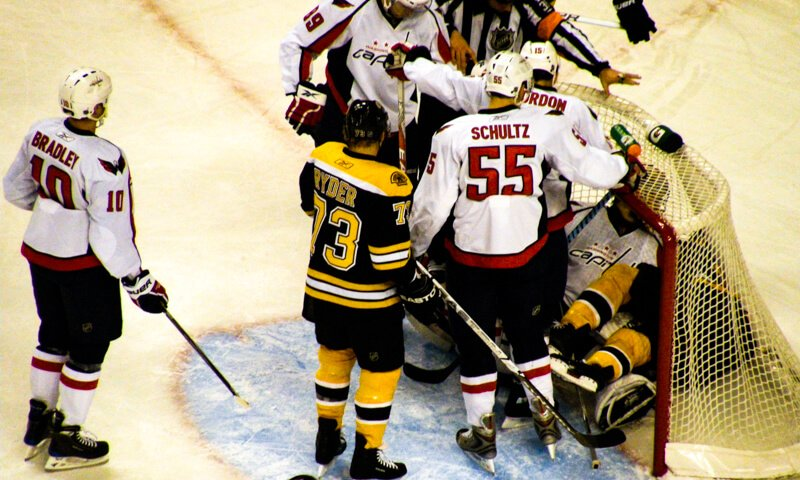 New England Bruins April schedule at TD Garden in Boston