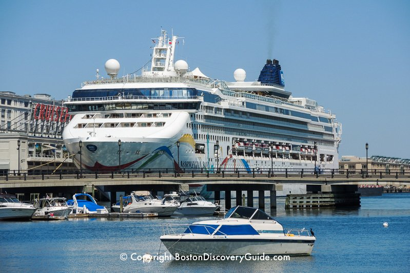 Cruise ship at Boston's Flynn CruisePort