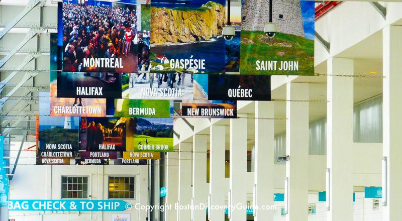 Black Falcon Cruise Terminal in Boston, Massachusetts / www.boston-discovery-guide.com