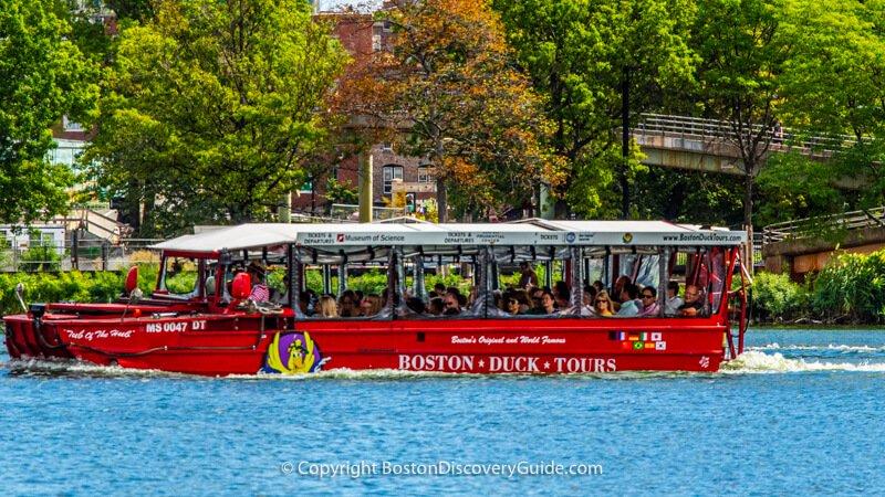 Boston Duck Boat tours