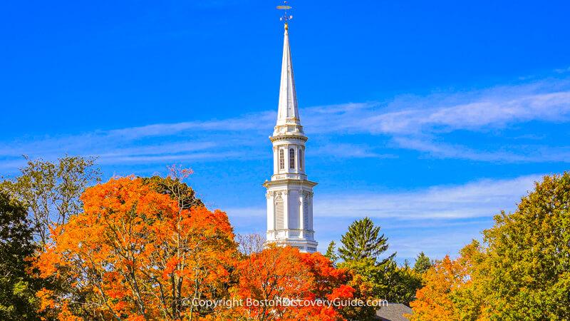 Fall Foliage tours from Boston