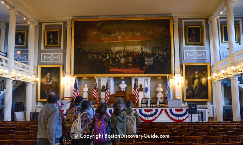 Faneuil Hall second floor assembly room