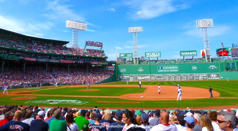 Boston's Fenway Park - Red Sox Home Game Schedule