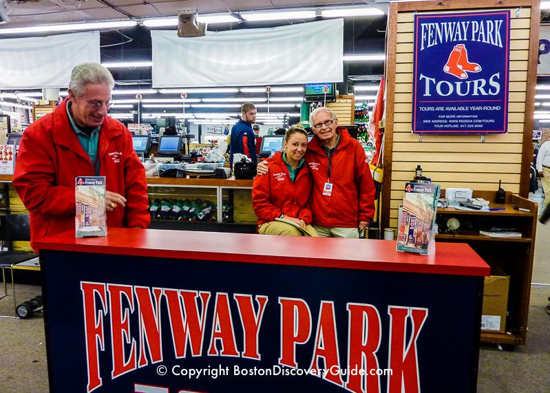 Fenway Park Tour in Boston