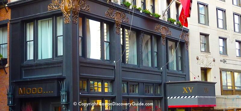 Downtown Boston Hotels