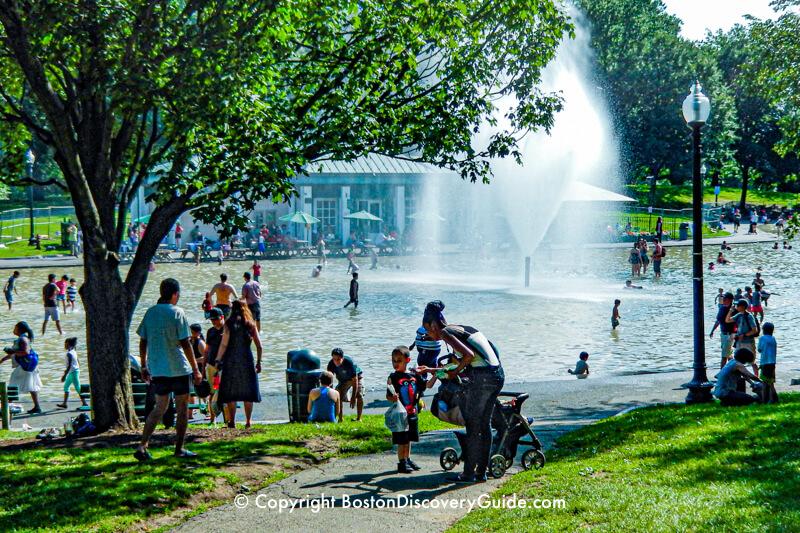 Boston Common Spray Pool