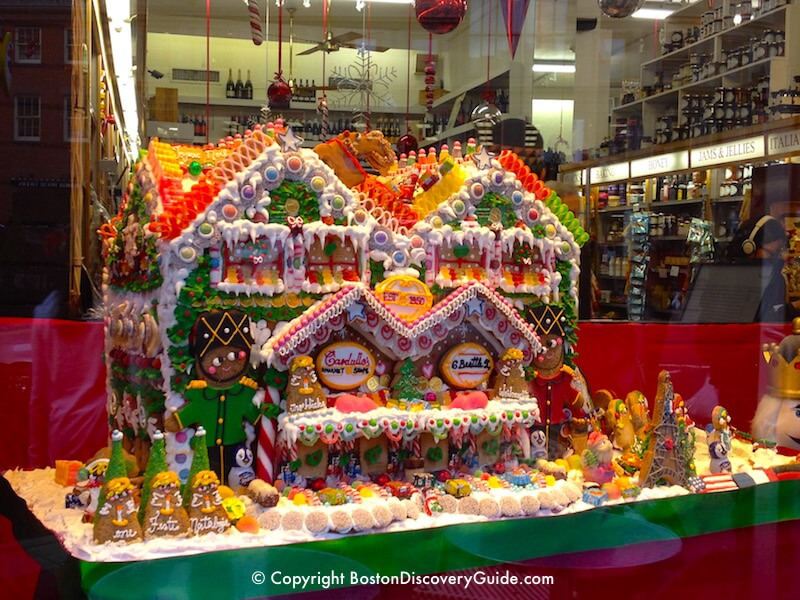Gingerbread house at Cardullo's